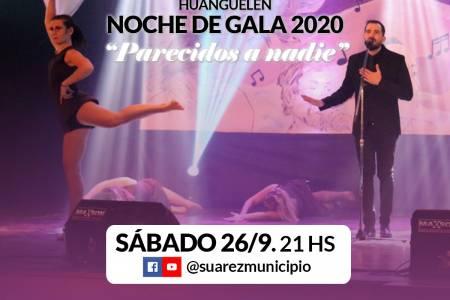 """Huanguelén ya palpita su 108° aniversario - Noche de Gala Virtual """"Parecidos a nadie"""""""