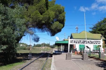 Vuelve el tren de pasajeros a Sierra de la Ventana