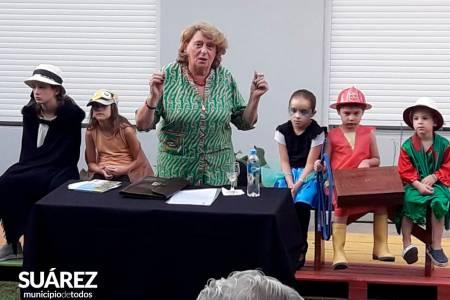"""Susana Cincotta presentó """"Cuentos para leer sin barbijo"""""""