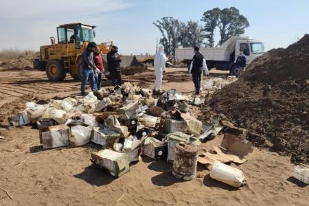 Multaron a FerroExpreso con $ 27 millones por enterrar bidones de agrotóxicos