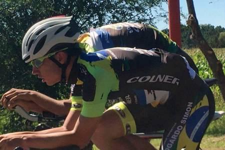 Ciclismo: Damián Alonso finalizó 24° en la prueba de pelotón