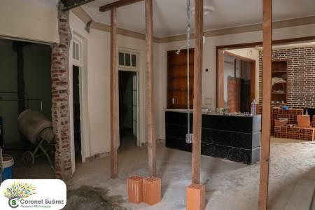 Empezó la refacción y acondicionamiento del edificio para la Escuela de Música
