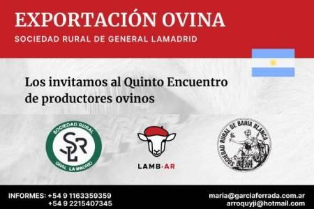 Los invitamos al Quinto Encuentro de productores ovinos