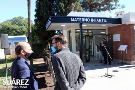 #SuárezAvanza con el apoyo de la fundación Smurfit Kappa se materializó la obra de ampliación en el Hospital de Coronel Suárez