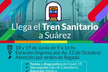 El Tren Sanitario llega a Coronel Suárez