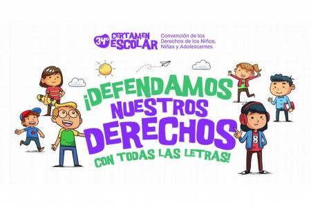 34° Certamen Escolar ¡Defendamos nuestros derechos con todas las letras!