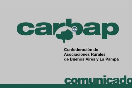 Comunicado de prensa de CARBAP