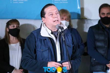 La lista del Frente de Todos que encabeza Néstor Carbini se presentó en Villa Belgrano