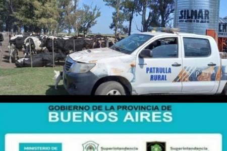 Golpe contra el abigeato: El CPR 9 de Julio esclareció un robo de animales valuado en 18 millones de pesos