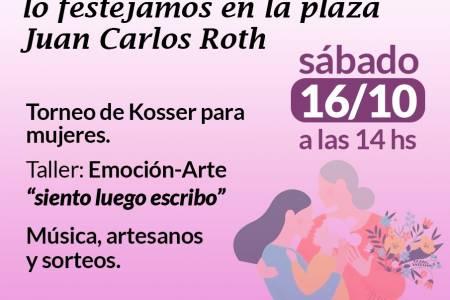 El Día de la Madre lo festejamos en la plaza Juan Carlos Roth