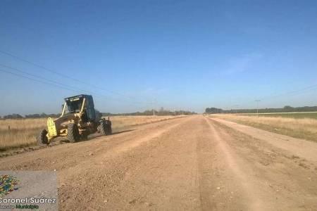 El Gobierno municipal dio detalle de trabajos viales en distrito