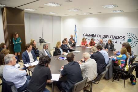 Diputados trabajaron en comisión el proyecto sobre enjuiciamiento de magistrados