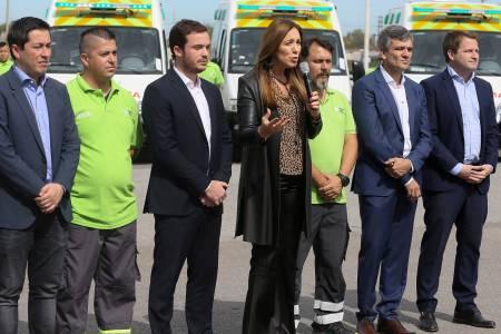 """Vidal anunció que el SAME ya opera en cien municipios de la provincia y que """"trabajamos para llegar a los 135"""""""