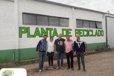 Miracca se reunió con integrantes de la ONG Ambiental 'Huella Mínima'