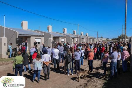 En Barrio Rosario, 34 familias cumplieron el sueño de la casa propia