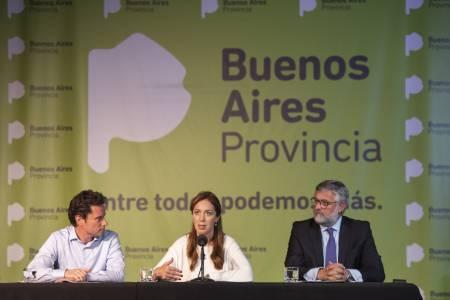 """María Eugenia Vidal: el acuerdo con los docentes se basó en """"responsabilidad y coherencia"""" y garantiza """"el calendario escolar completo"""""""