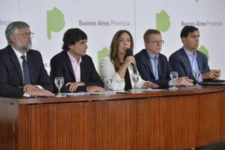 """María Eugenia Vidal anunció un paquete de medidas económicas para """"llevar alivio y tranquilidad al bolsillo de los bonaerenses"""""""