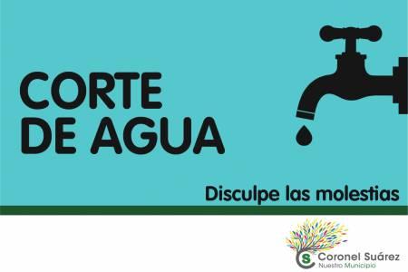 El sábado 22 de junio habrá corte general de agua en la ciudad cabecera
