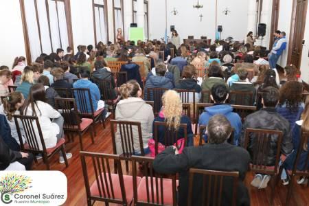 Once escuelas participaron del Parlamento Juvenil