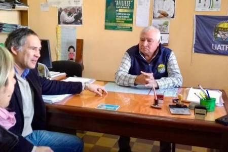 UATRE apoya la candidatura de Pedro Rodríguez