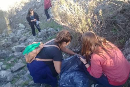 Milla Curá trabaja por el medio ambiente y la solidaridad