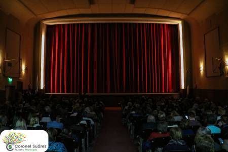 La ciudad de fiesta, volvió el cine a Coronel Suárez