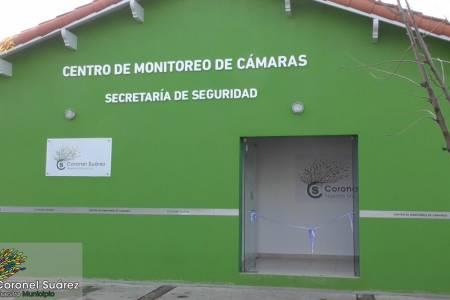 El intendente Palacio habilitó las obras de remodelación y ampliación del Centro de Monitoreo