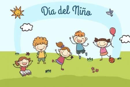 El Día del Niño, se festeja en el Polideportivo Municipal Cerrado