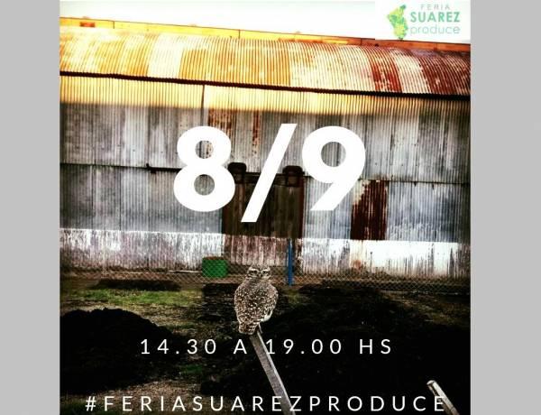 Este domingo 8 de septiembre tendrá lugar una nueva edición de la Feria Suárez Produce