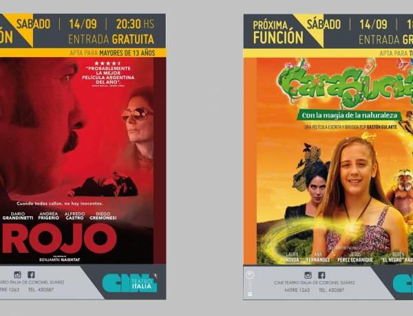 Sabado de cine argentino gratuito