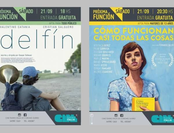 Sábado jornada de cine argentino gratuito
