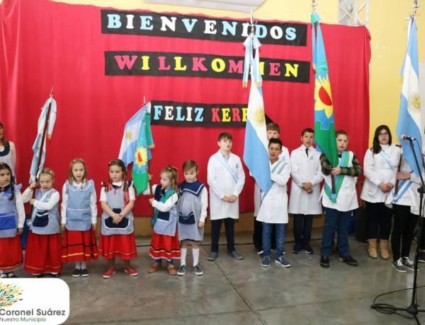 Palacio destacó y convocó a que todos revaloricemos la cultura del trabajo y la religión de los pueblos alemanes