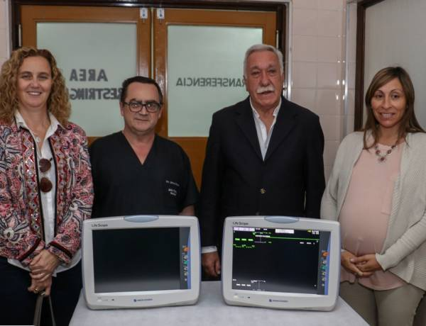 El municipio renovó totalmente la central de monitoreo de Terapia Intensiva y adquirió cinco nuevos monitores