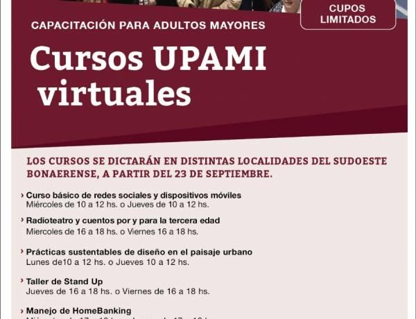 Cursos para adultos mayores del distrito afiliados a PAMI