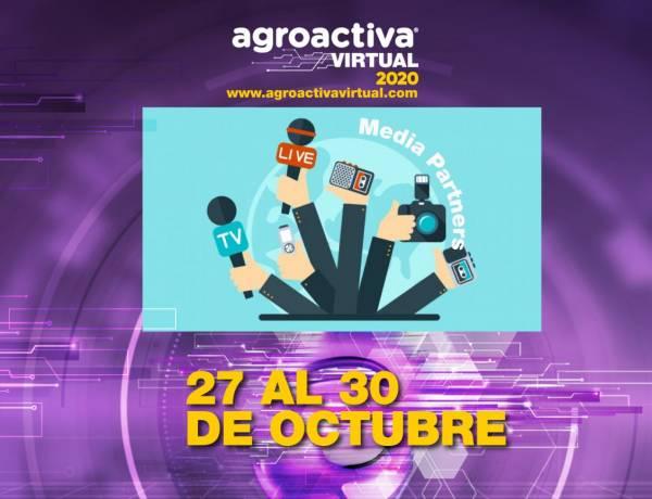 Los Media Partners apuntalan AgroActiva virtual en su previa