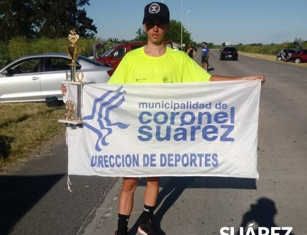 Damián Alonso ganó en San Vicente