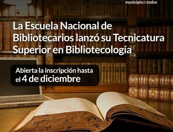 La Escuela Nacional de Bibliotecarios lanzó su Tecnicatura Superior en Bibliotecología