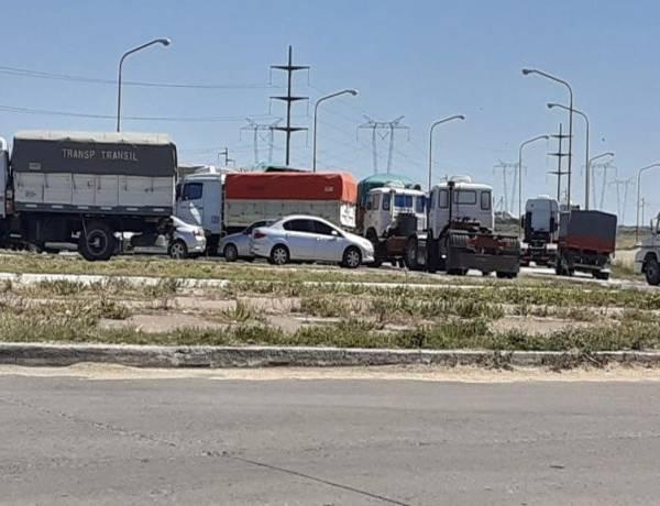 Grandes pérdidas y preocupación en Bahía por el paro de transportistas
