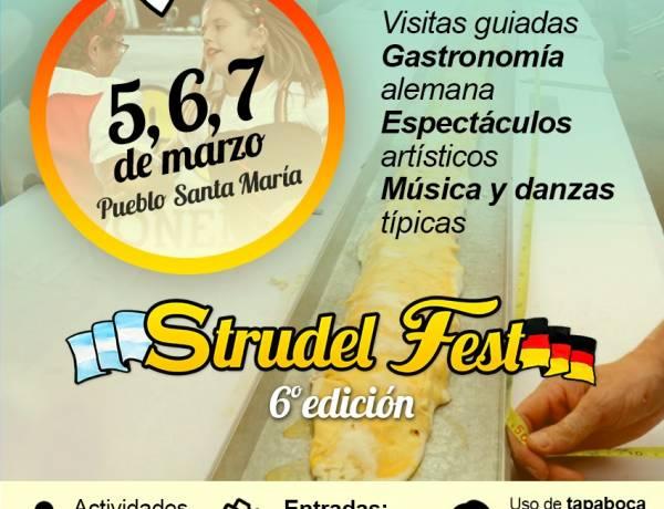 Se viene la 6° edición de la Strudel Fest 2021