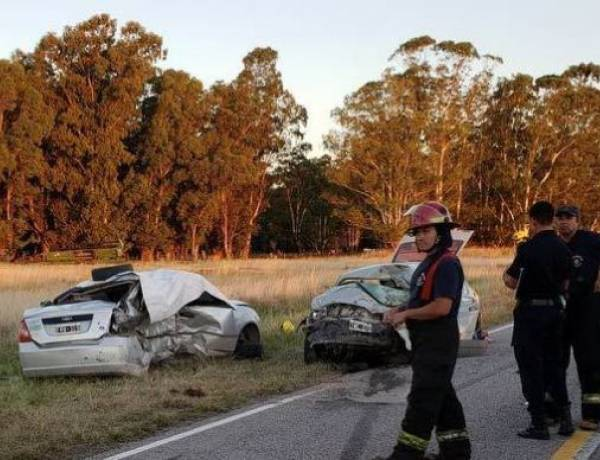 Choque fatal: Cinco muertos en accidente en Ruta 85