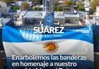 Enarbolemos las banderas en homenaje a nuestro querido Manuel Belgrano