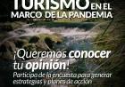 Turismo en el marco de la pandemia - Encuesta para generar estrategias y planes de acción