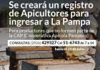 Se creará un registro de Apicultores para ingresar a La Pampa