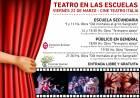 Alumnos de las distintas modalidades y niveles de educación disfrutarán este viernes de obras de teatro