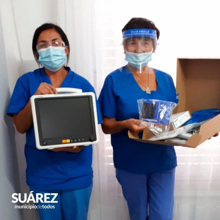 Por gestiones del Intendente Moccero arribó al hospital de Huanguelén equipamiento tecnológico desde el Ministerio de Salud de la provincia
