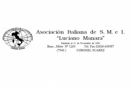 Cena 125 Aniversario de la Asociación Italiana