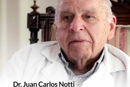 Salutación por el fallecimiento del doctor Juan Carlos Notti