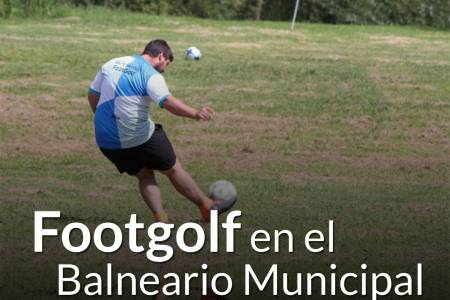 Nuevo torneo de Footgolf en el #Samuel