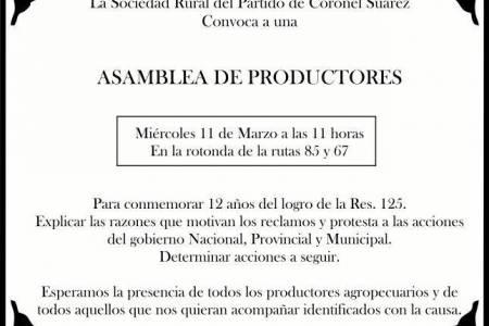 Asamblea de productores