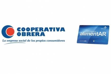 La Cooperativa Obrera otorga descuentos a beneficiarios de la tarjeta alimentar
